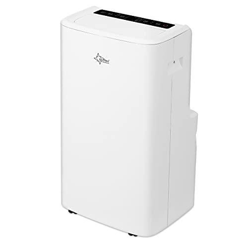 SUNTEC Mobiles Klimagerät Impuls 3.5 Eco R290 – Klimaanlage mobil mit Abluftschlauch – Kühler und Entfeuchter für Räume bis 60 qm – Leise...