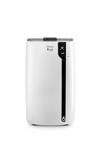 De'Longhi Pinguino PAC EX100 Silent mobiles Klimagerät mit Abluftschlauch, Klimaanlage für Räume bis 80 m³, Luftentfeuchter, Ventilationsfunktion,...