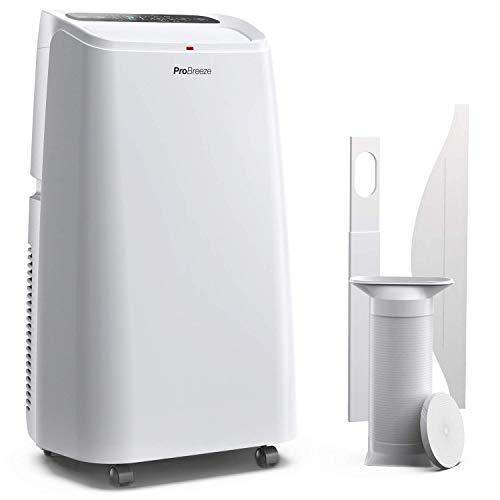 Pro Breeze™ 4-in-1 Mobile 12000 BTU Klimaanlage mit Smart App und Fernbedienung - Heizen und Kühlen, Ventilator, Luftentfeuchter - Klimagerät mit...