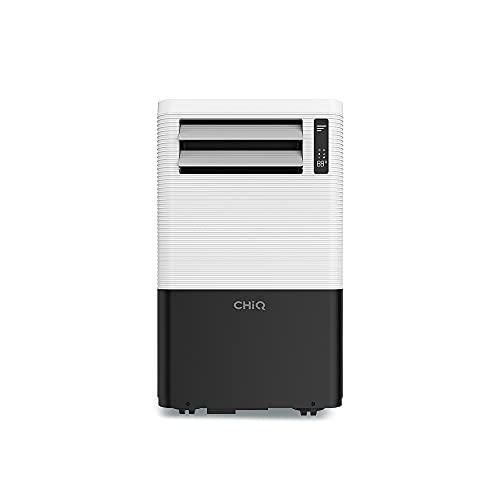 CHiQ 3in1 Mobiles Klimagerät 1280 Watt Klimagerät mit Abluftschlauch und Fenster-Abdicht-Kit   Mobile Klimageräte für Büro, Wohnung, Schlafzimmer...