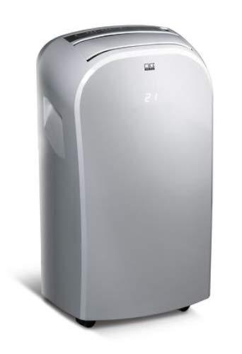 REMKO Raumklimagerät MKT 255 Eco, silber (Klimagerät für ca. 80m³, Kühlleistung 2,6 Kw, incl. Fernbedienung) 1616256[Energieklasse A]