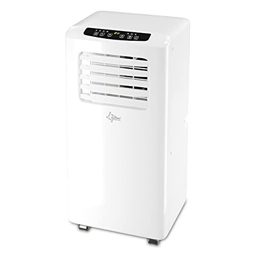 SUNTEC Mobiles lokales Klimagerät Impuls 2.0 Eco R290 | Klimaanlage für Räume bis 25 qm | Abluftschlauch | Kühler und Entfeuchter mit...
