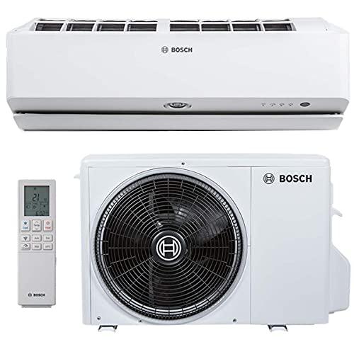 BOSCH Climate 9000i Split Klimaanlage 3,5 kW 12000 BTU, für bis zu 50 qm, Invert Klimagerät Split, A++ Kühlen, A+ Heizen, inkl. MontageSet,...