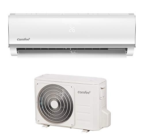 Comfee Split-Klimageräte MSAF5-12HRDN8-QE R32 SET, Leise Festinstallierte Split Klimaanlage für Räume bis ca. 103 m³(41 ㎡), 11000 BTU, 3,2 kW,...