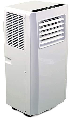 JUNG AIR TV05 mobiles Klimagerät mit Fernbedienung - TÜV geprüft - 3,2 KW/11000 BTU - STROMSPAREND, GERÄUSCHARM -100m³ Raum Kühlung, Klimaanlage...