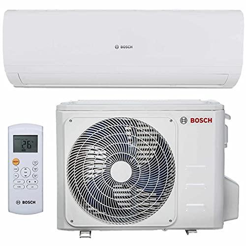 BOSCH Climate 5000 RAC Split Klimaanlage 3,5 kW 12000 BTU, für bis zu 50 qm, Invert Klimagerät Split, A++ Kühlen, A+ Heizen, inkl. MontageSet,...