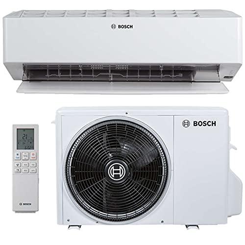 BOSCH Climate 6000i Split Klimaanlage 3,5 kW 12000 BTU, für bis zu 50 qm, Invert Klimagerät Split, A++ Kühlen, A+ Heizen, inkl. MontageSet,...