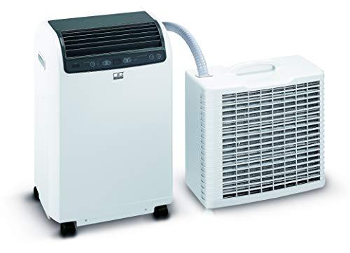 REMKO Lokales Raumklimagerät RKL 495 DC, weiß (Split-Ausführung, Klimagerät für ca. 120m³, Kühlleistung 4,3 Kw, incl. Fernbedienung) 1616495