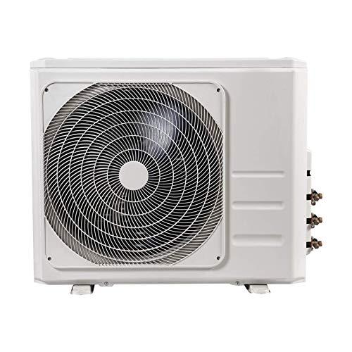 Trio- Split- Klimagerät Comfee 3D-27K TRIO Set mit Fernbedienung, für Räume bis zu jeweils 32 m² geeignet