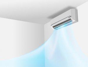Klimaanlage an der Wand